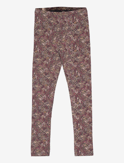 Jersey Leggings - leggings - blue flowers