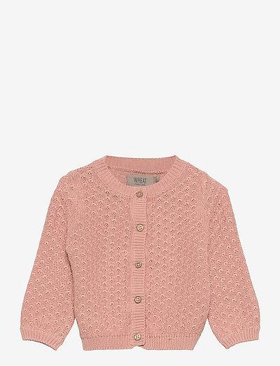 Knit Cardigan Magnella - cardigans - misty rose
