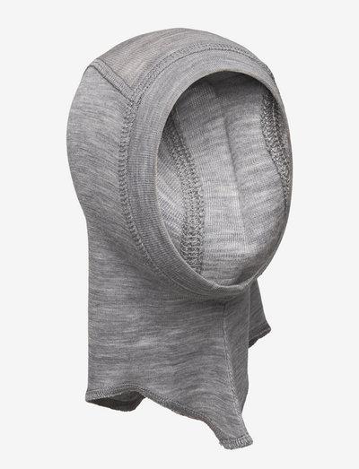Elephant Hat Wool - balaclava - melange grey