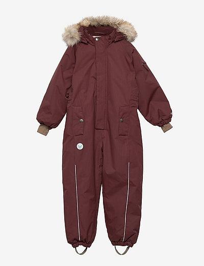 Snowsuit Moe Tech - overtøj - maroon