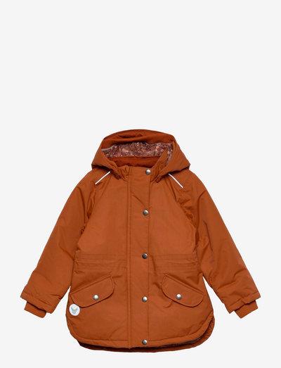 Jacket Elda Tech - softshell-jakker - cinnamon
