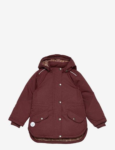 Jacket Elda Tech - softshell-jakker - maroon