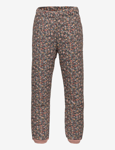 Thermo Pants Alex - overall - ink flowers