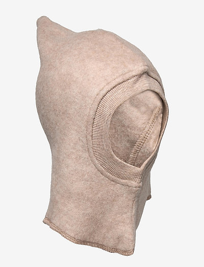 Wool Fleece Balaclave - huer & kasketter - khaki melange
