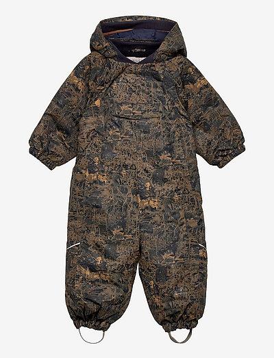 Snowsuit Adi Tech - overtøj - wood