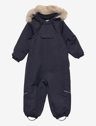 Snowsuit Nickie Tech - overtøj - deep blue