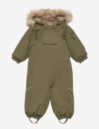 Snowsuit Nickie Tech - overtøj - winter moss