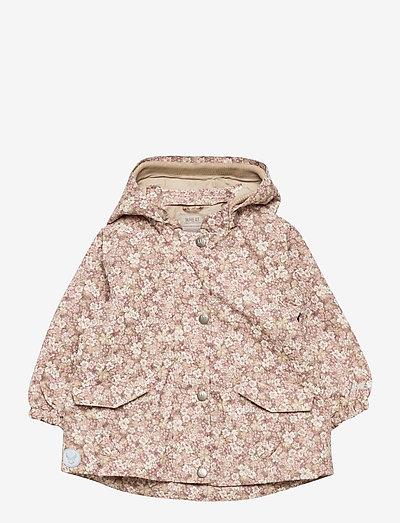 Jacket Ada Tech - veste coupe-vent - rose flowers