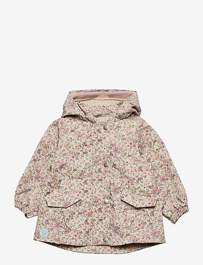 Jacket Ada Tech - veste coupe-vent - stone flowers