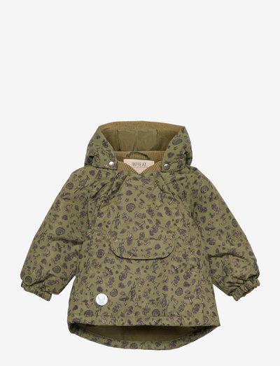 Jacket Sascha Tech - shell jackets - winter green forest