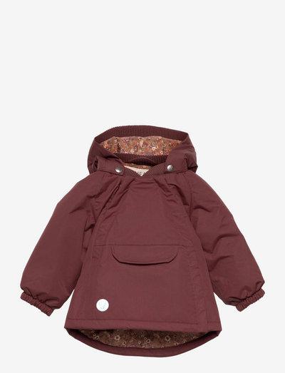 Jacket Sascha Tech - shell jackets - maroon