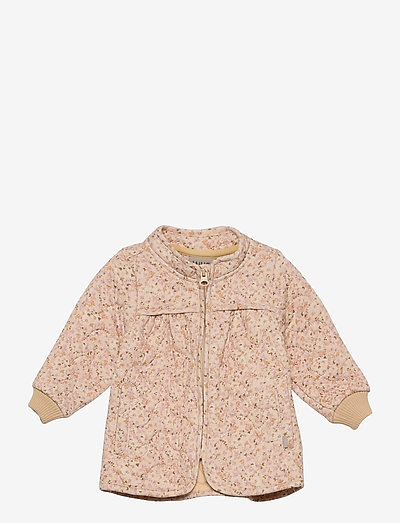 Thermo Jacket Thilde - overall - soft beige flowers