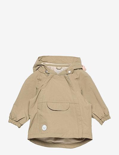 Jacket Sveo Tech - shell jackets - dusty green