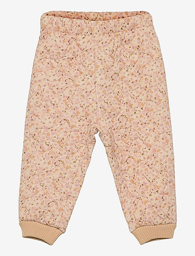 Thermo Pants Alex - overall - soft beige flowers