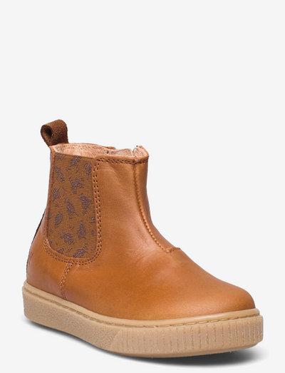 Indy Chelsea Bootie - støvler - cognac