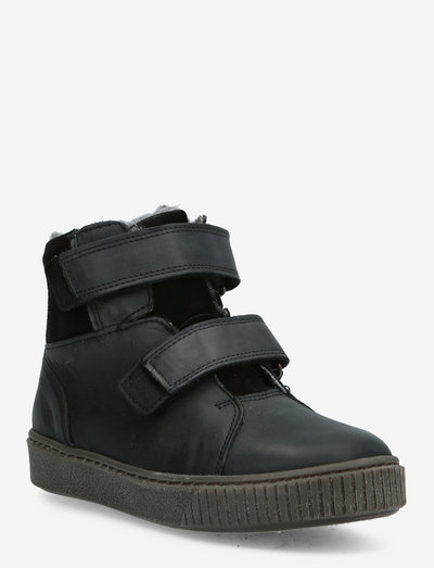 Hunter Velcro Tex Boot - vinterstøvler - black