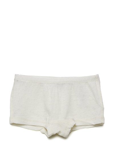 Girls Wool Panties - EGGSHELL