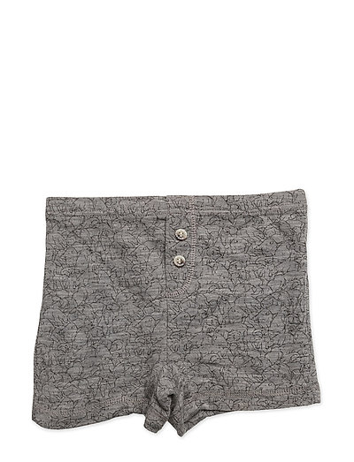 Boys Wool Tights - MELANGE GREY