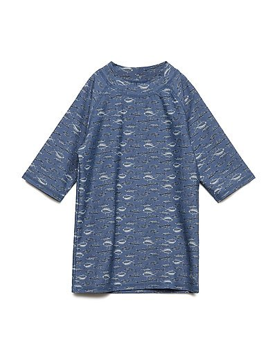 Wheat Swim T shirt Jackie Ss Bering Sea Barn Klær Badetøy Uv