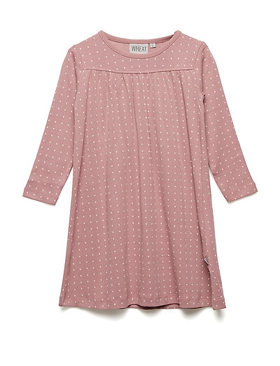 Nightgown Yoke LS - NOSTALGIC ROSE