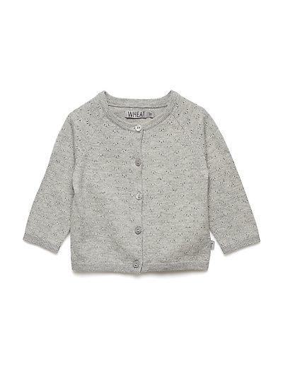 Knit Cardigan Maja - MELANGE GREY