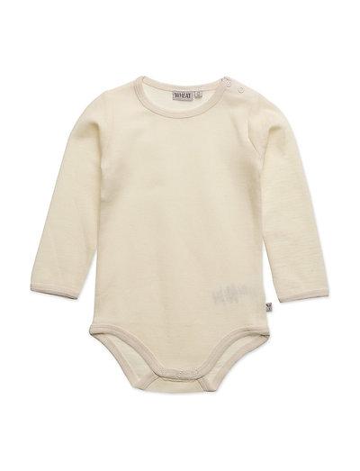 Body Plain Wool LS - EGGSHELL