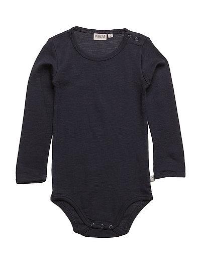 Body Plain Wool LS - NAVY