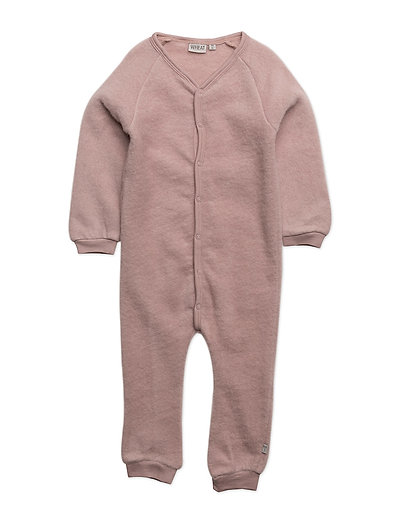 Felted Wool Jumpsuit - FAWN