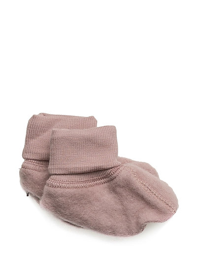 Felted Wool Booties - FAWN