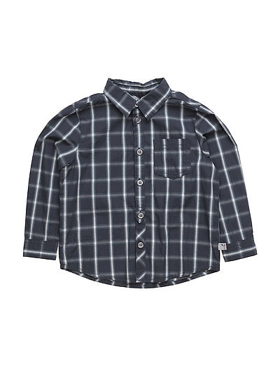 Shirt Olof LS - GREYBLUE