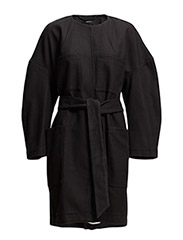 Malinka Coat - BLACK