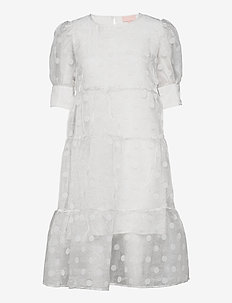 Nellie dress - kjoler - cloud dancer