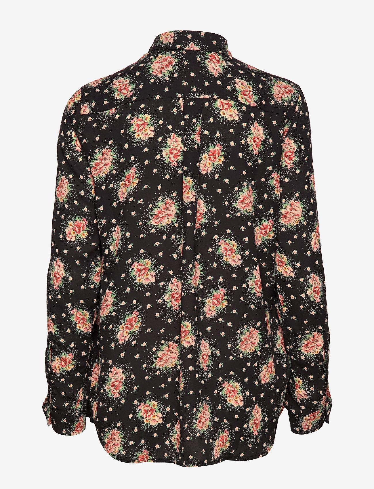 Whyred - KAROLINA BLOSSOMY - chemises à manches longues - black - 1