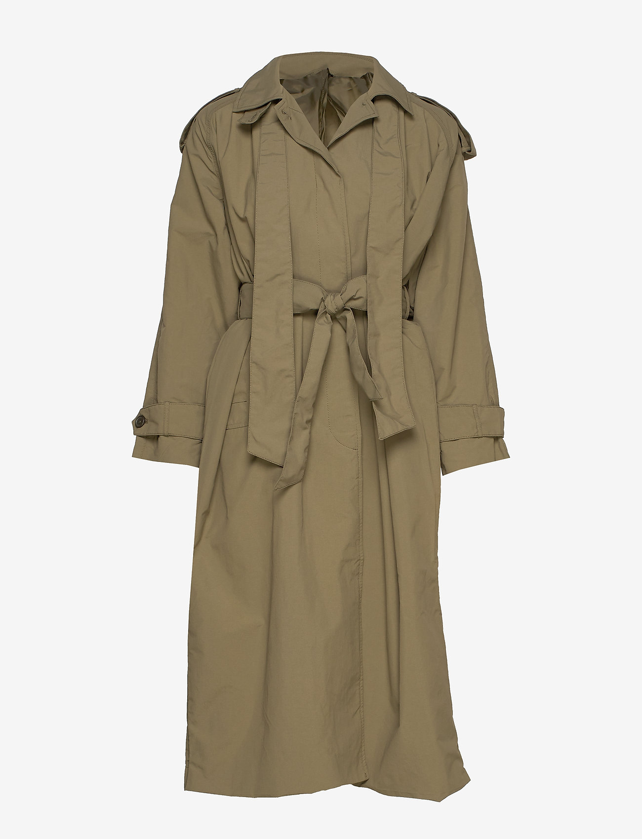 Whyred - TESSA - trench coats - military green - 0