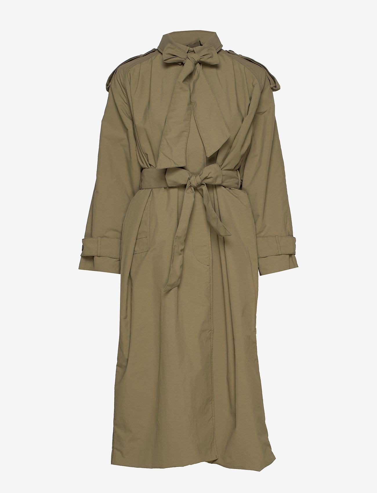 Whyred - TESSA - trench coats - military green - 1