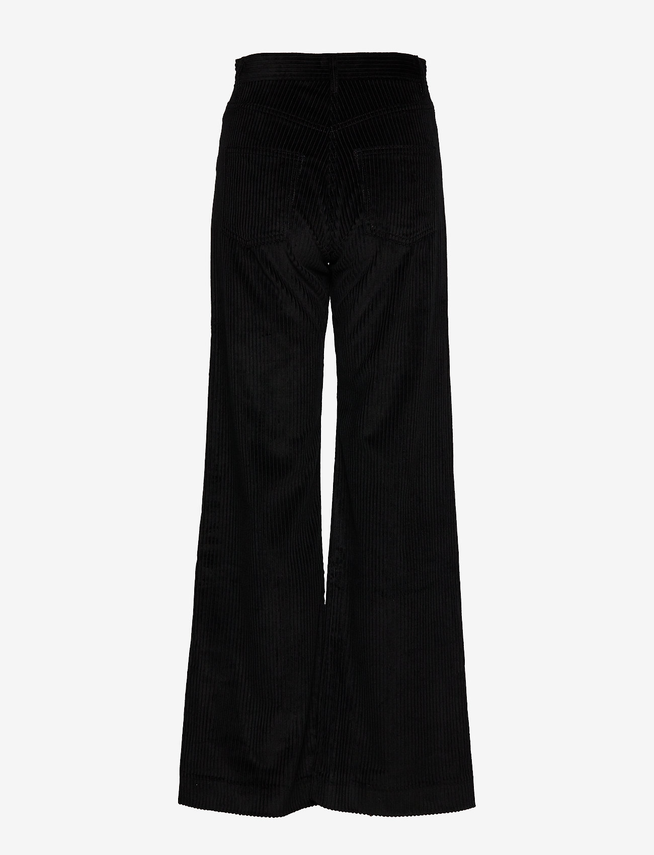 Whyred - RUTH - wide leg trousers - black - 1