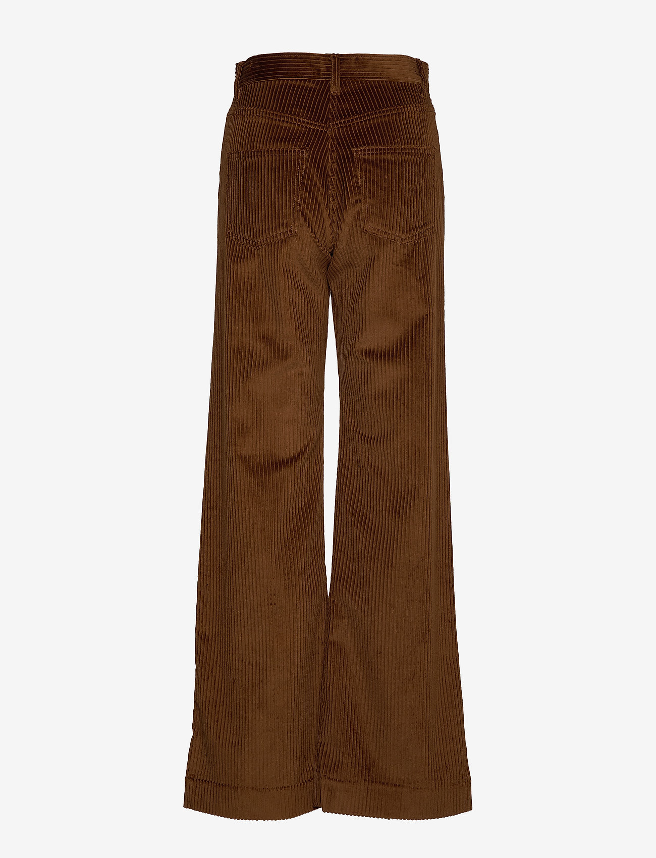 Whyred - RUTH - wide leg trousers - military brown - 1