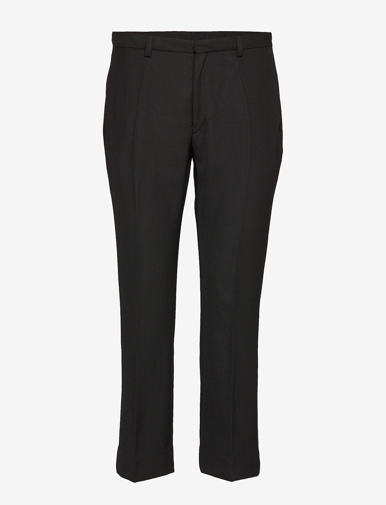 Whyred - CARNOT - straight leg trousers - black - 0
