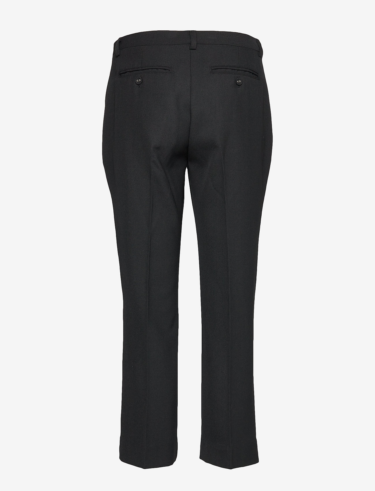 Whyred - CARNOT - straight leg trousers - black - 1
