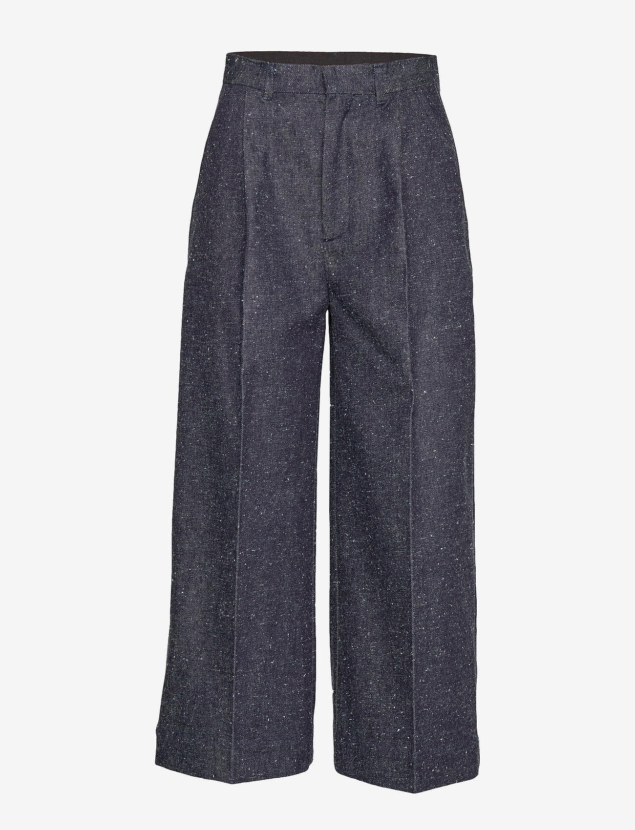 Whyred - REMILLY ONE PKT DENIM - wide leg trousers - unwashed - 0