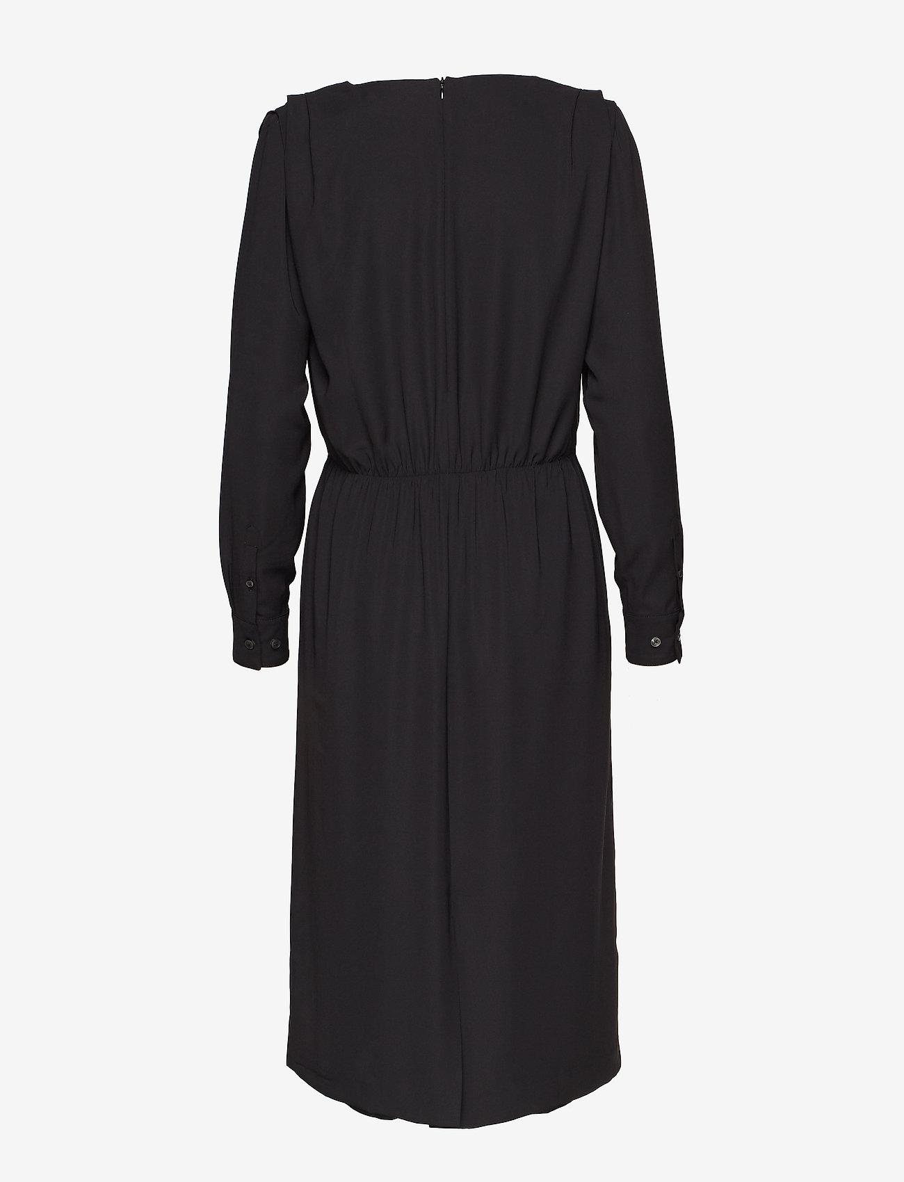 Whyred ELAY SHIRTSLEEVE SOLID - Kleider BLACK - Damen Kleidung