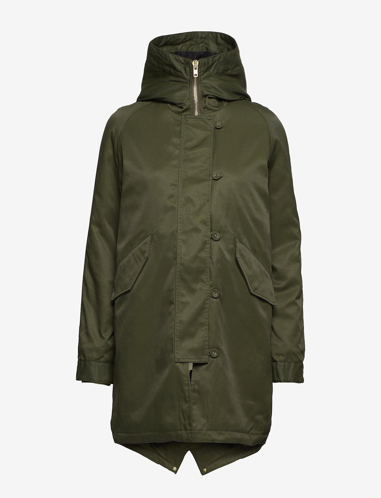 Whyred - STAR - parkas - uniform green - 1