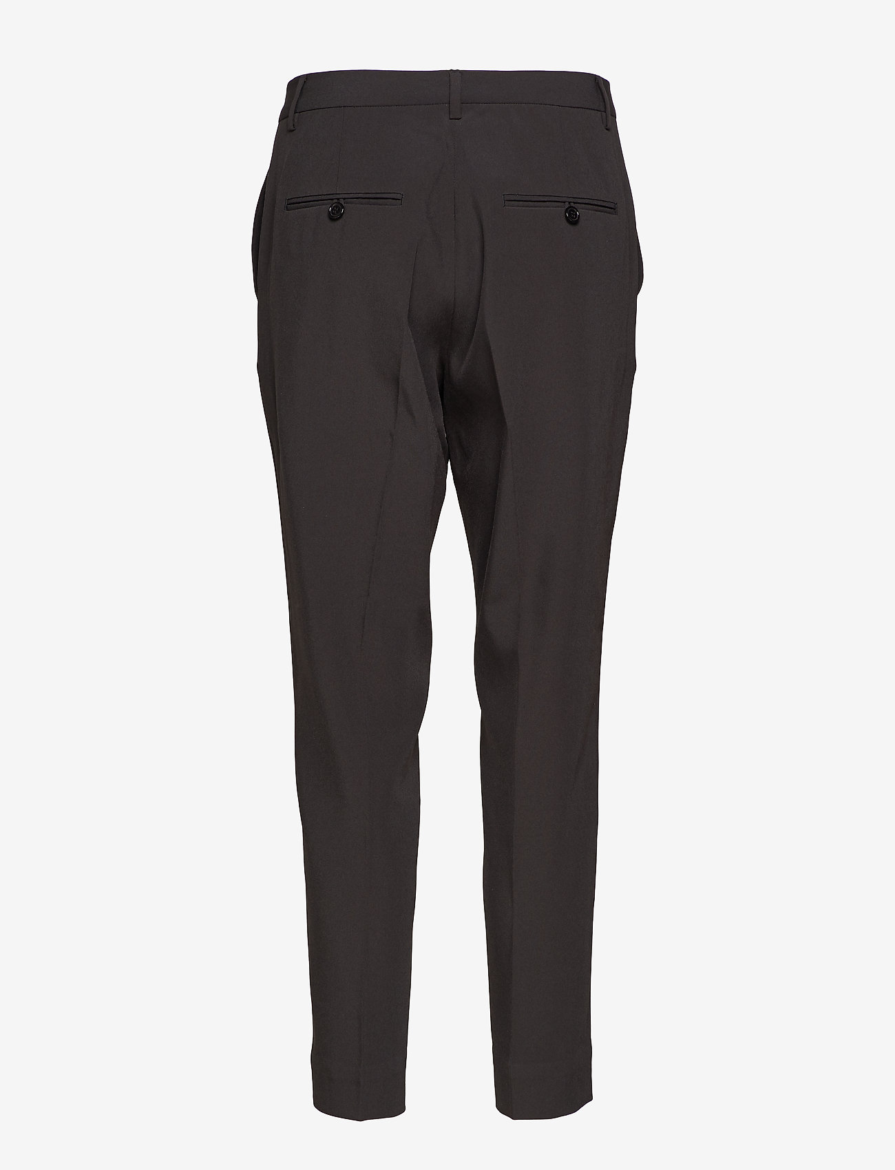 Whyred - BLUE - straight leg trousers - black - 1