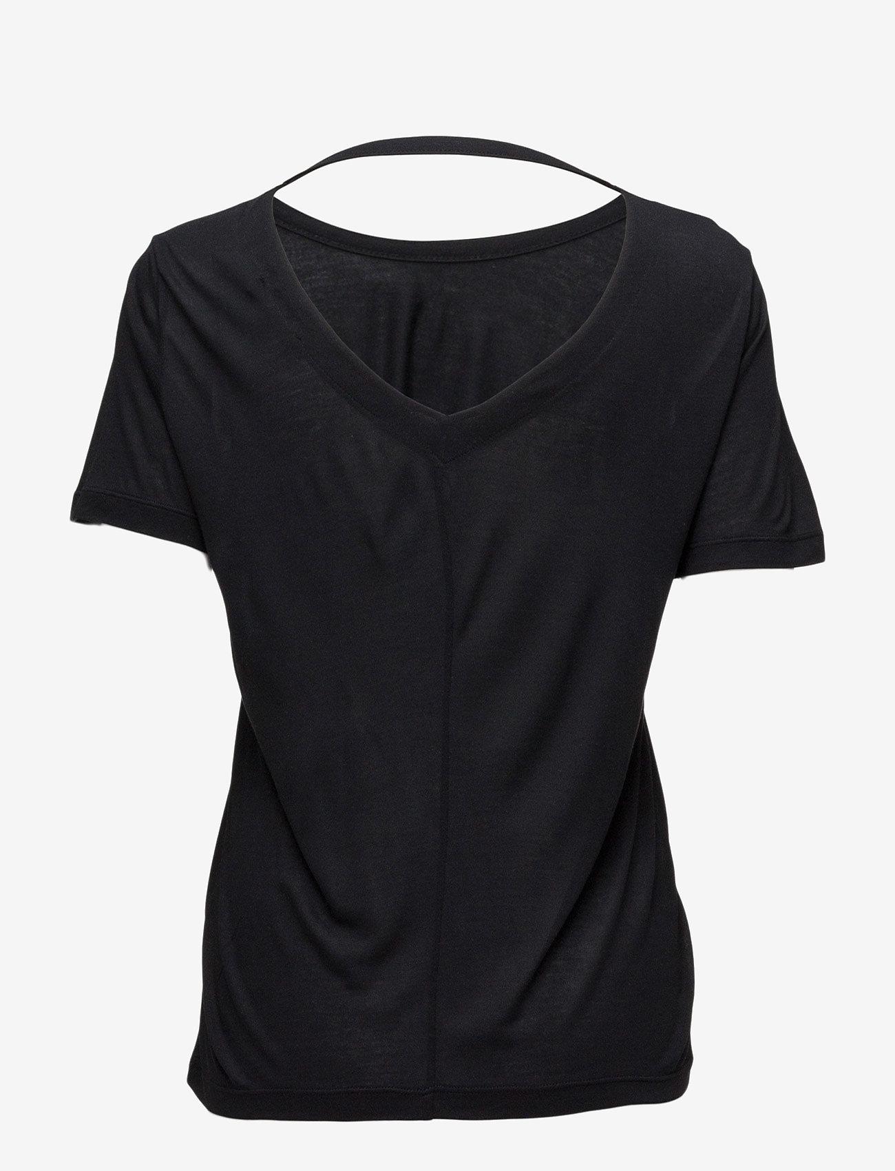 Whyred - FONDA - basic t-shirts - black