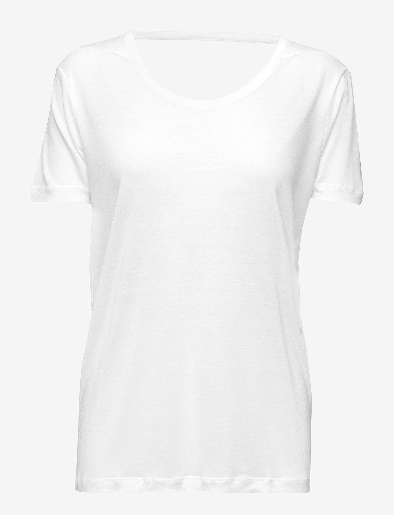 Whyred - FONDA - basic t-shirts - white - 0