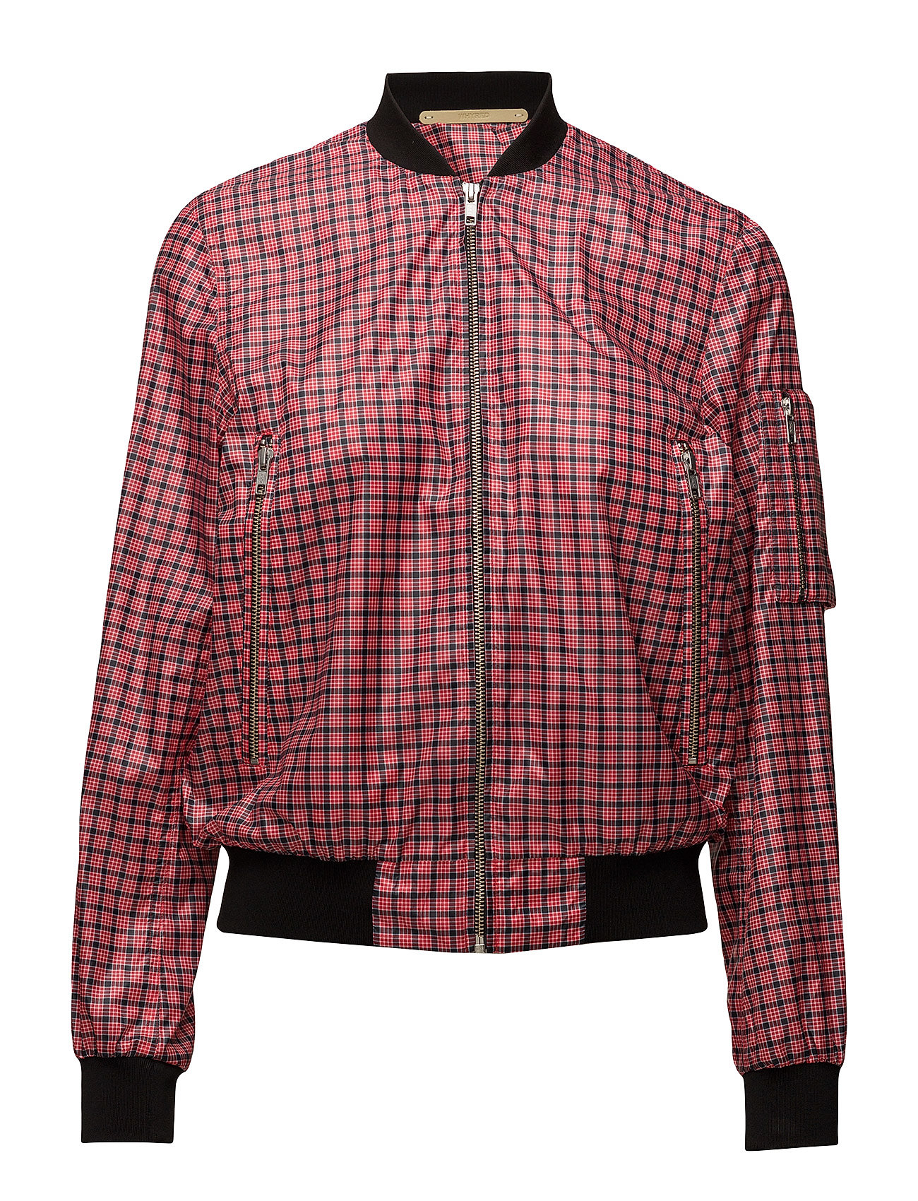 Whyred JANNIKE PRINT - RED CHECK
