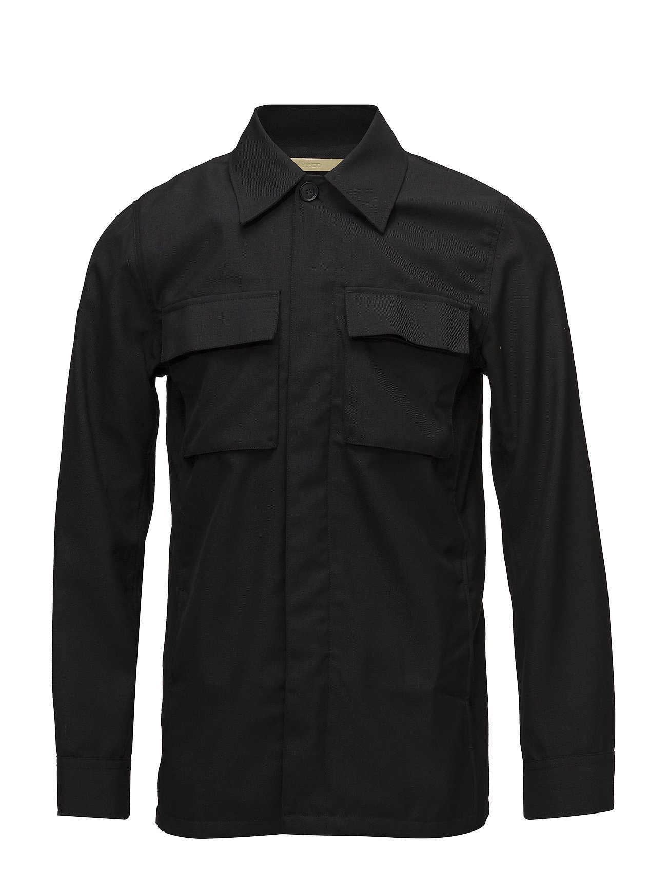 Whyred DUVALL OFFICER SHIRT - BLACK