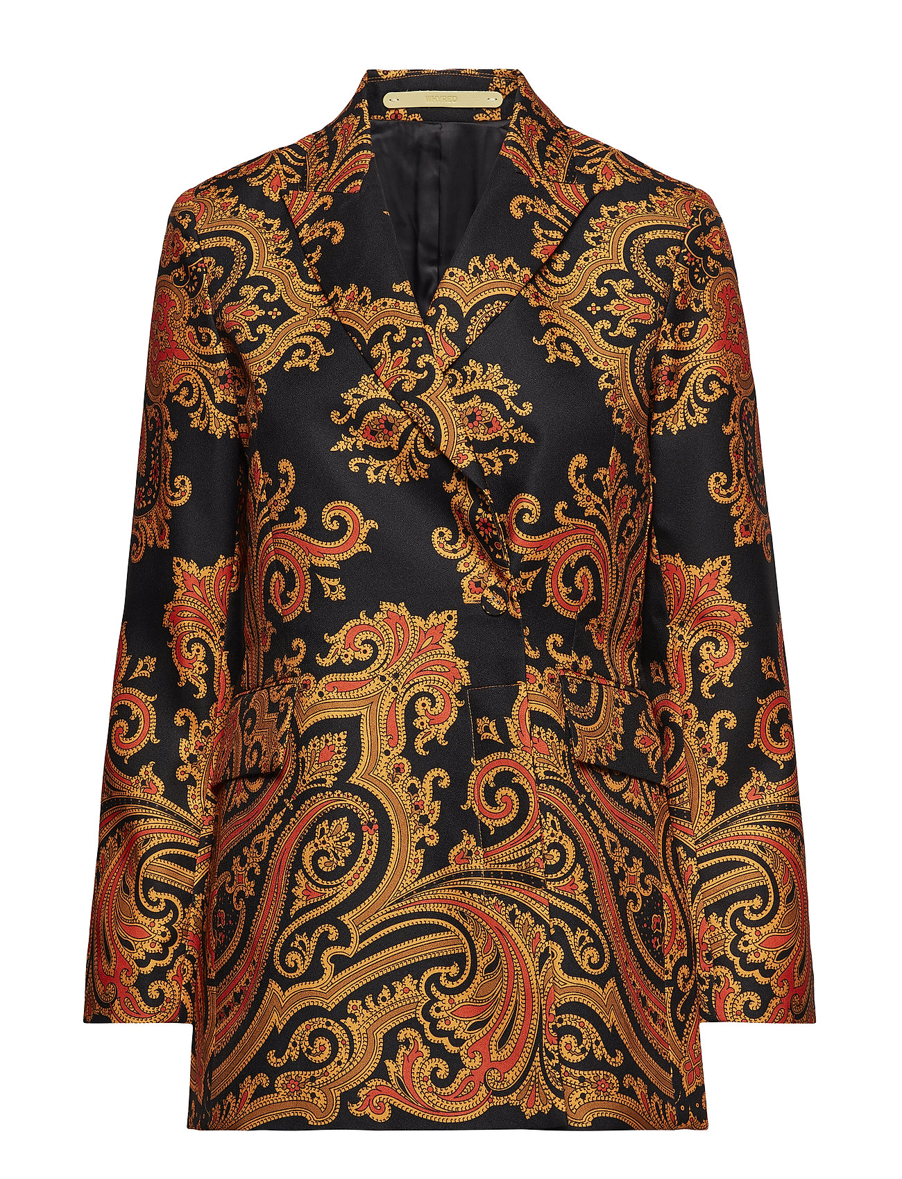 Whyred TROUVE PAISLEY - BLACK