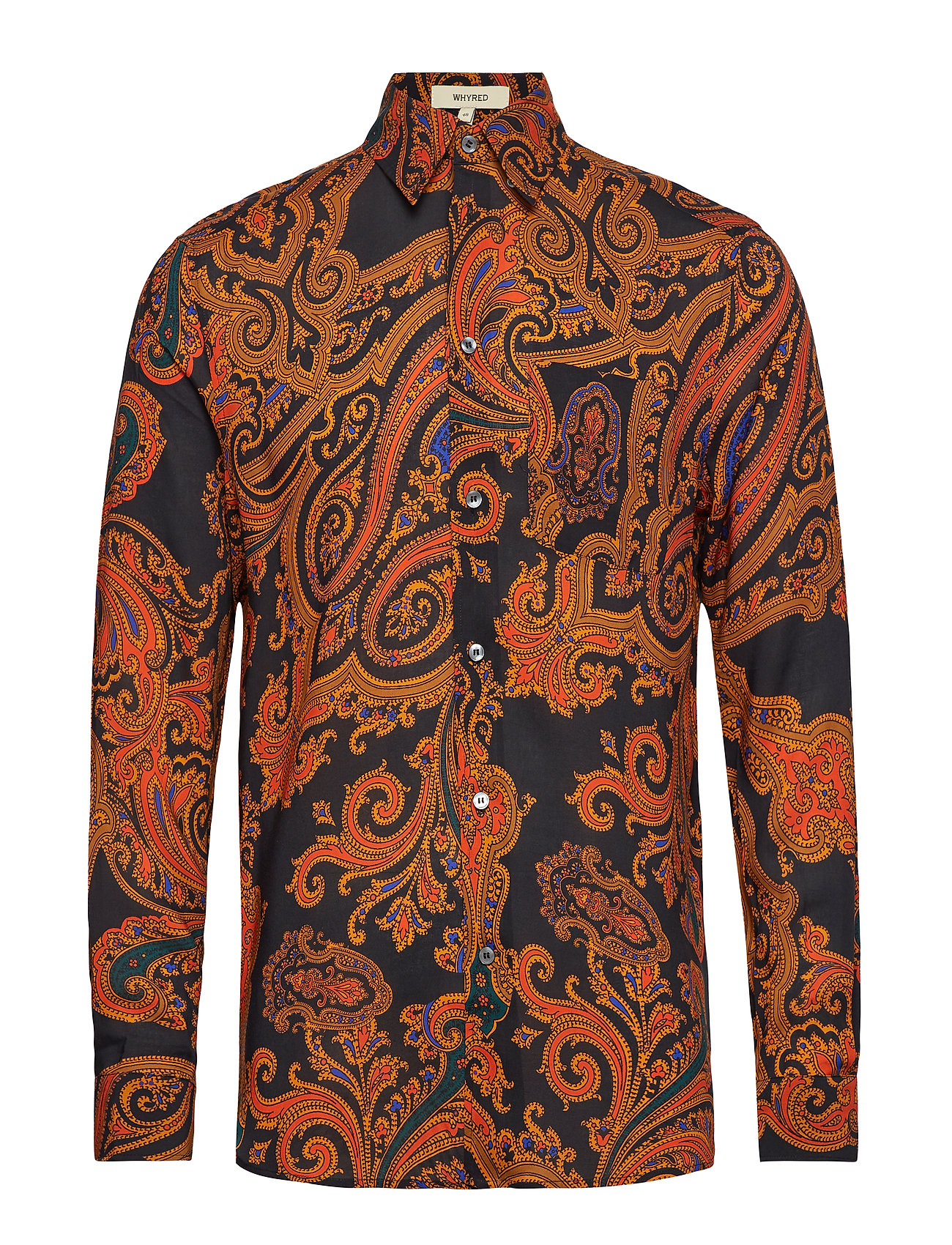 Whyred MILLS B:D PAISLEY - BLACK