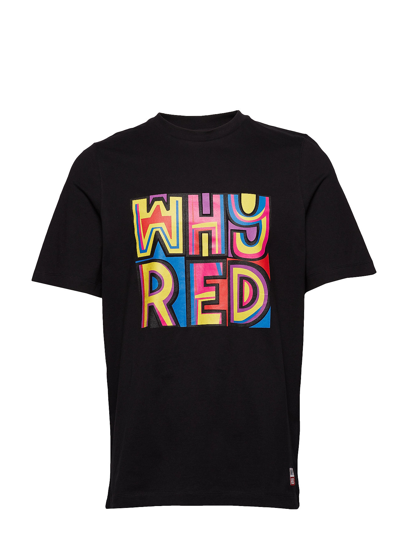 Whyred FOXTON COLOR PRINT - BLACK